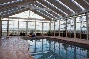 Pool Enclosure, HV Aluminium