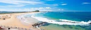 Newcastle, Nobby's Beach