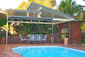Outdoor Living Area, Undercover Area, HV Aluminium