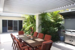 Alfresco Outdoor Patio with Eclipse Louvres