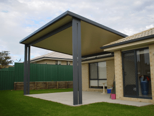 Single Skin Roof, Patio, Outdoor Living, HV Aluminium