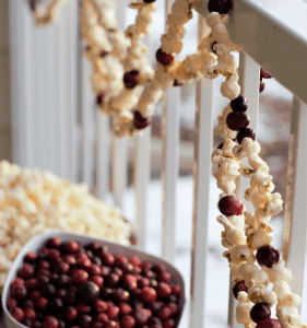 Popcorn Christmas Decorations