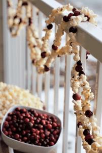 Popcorn Christmas Decorations