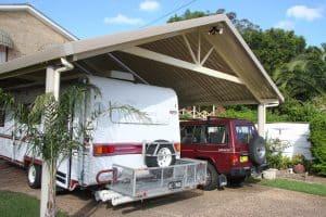 Carport, HV Aluminium