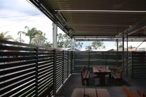 Wangi Wangi Hotel, Priva Screens, Eclipse Opening Roof System, HV Aluminium