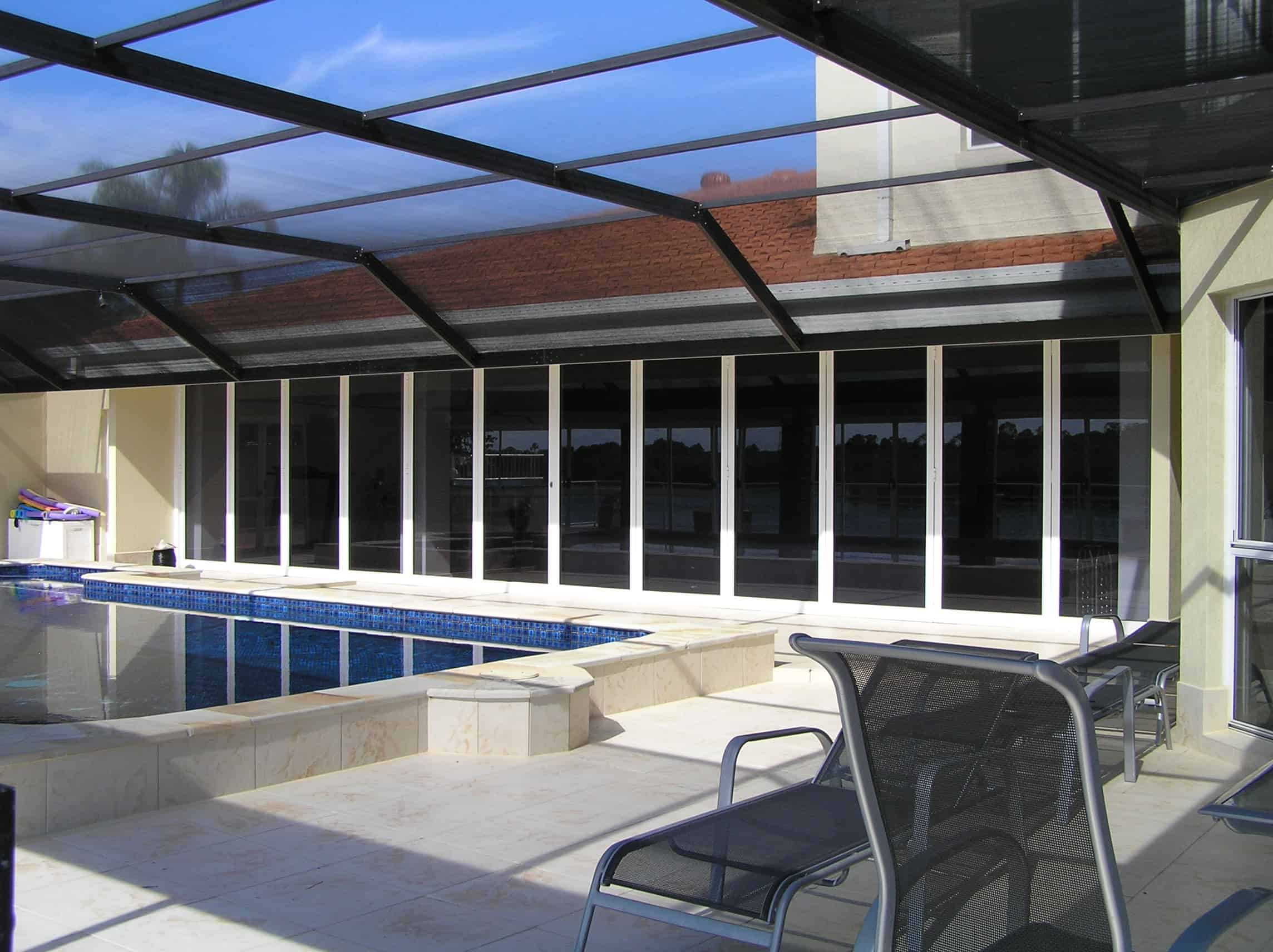 HV Aluminium Florida Pool Enclosure