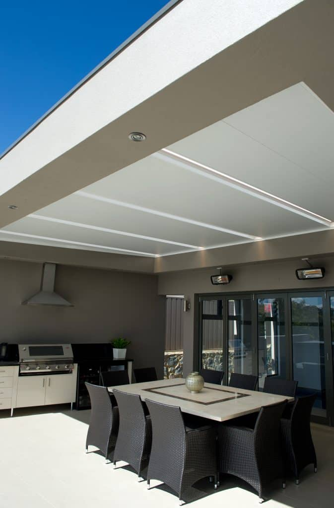 Shademaster Shelter Systems insulated roof panels