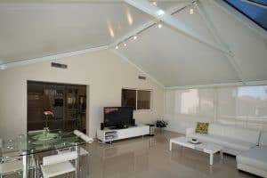 HV Aluminium Outdoor Room with Downlights