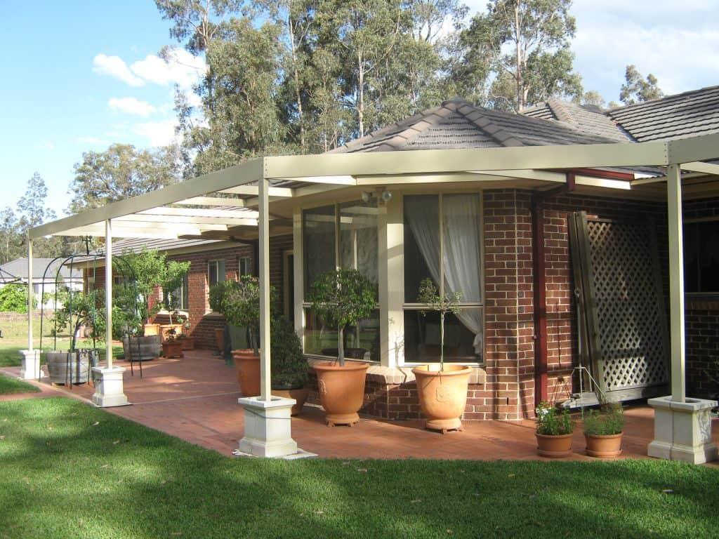 HV Aluminium Pergola, Outdoor Living Area