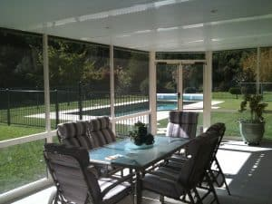 HV Aluminium Screen Room