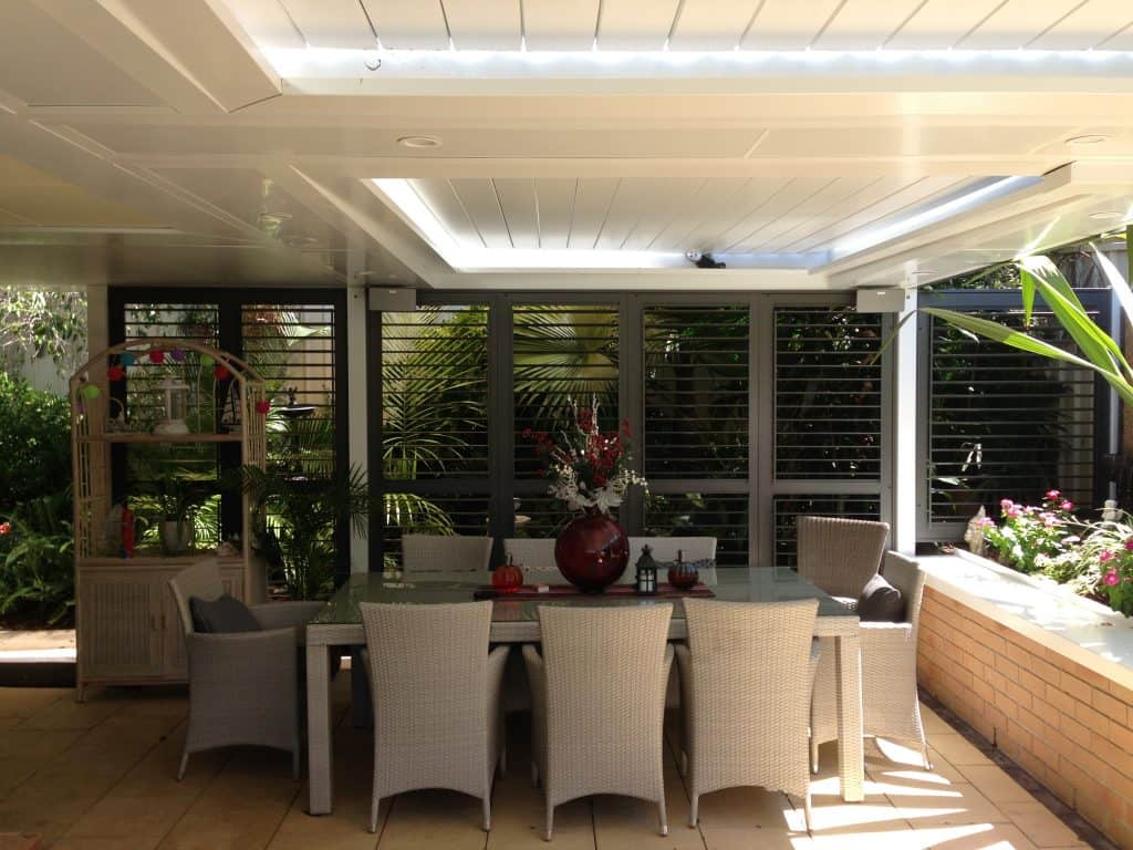 Privacy Slats for Outdoor Rooms