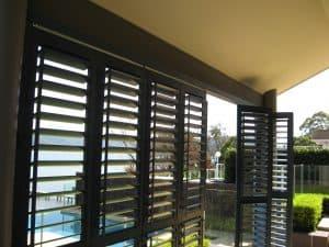 Window Shutters, Outdoor Room, HV Aluminium