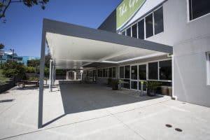 Carport, Pergola, Commercial Location, HV Aluminium
