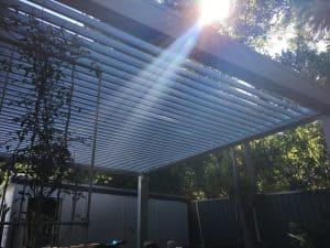 Backyard Reovation, Patio, Opening Roof System, HV Aluminium
