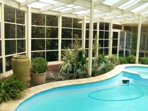 Pool Enclosure, HV Aluminium