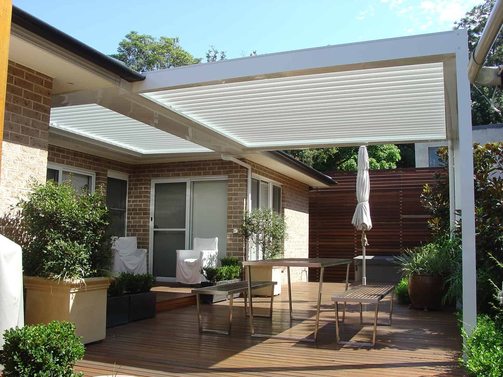 Eclipse Opening Roof and Patio Cover