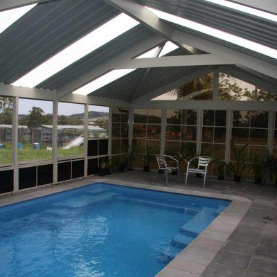 Outdoor Room, Pool Enclosure, HV Aluminium
