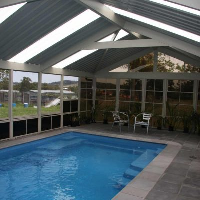 Outdoor Room, Pool Enclosure, HV Aluminium