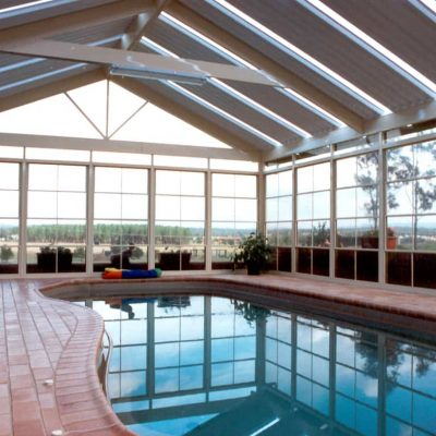 HV Aluminium Paradise Room Pool Enclosure