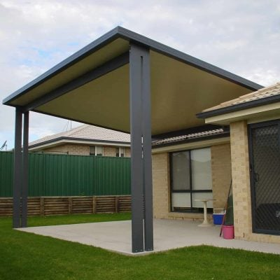 HV Aluminium Patio, Flat Roof Patio