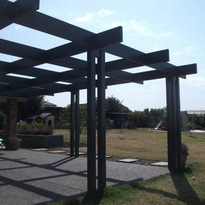 HV Aluminium Backyard Pergola