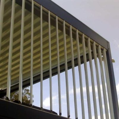 HV Aluminium Eclipse Sun Louvres Privacy Screens